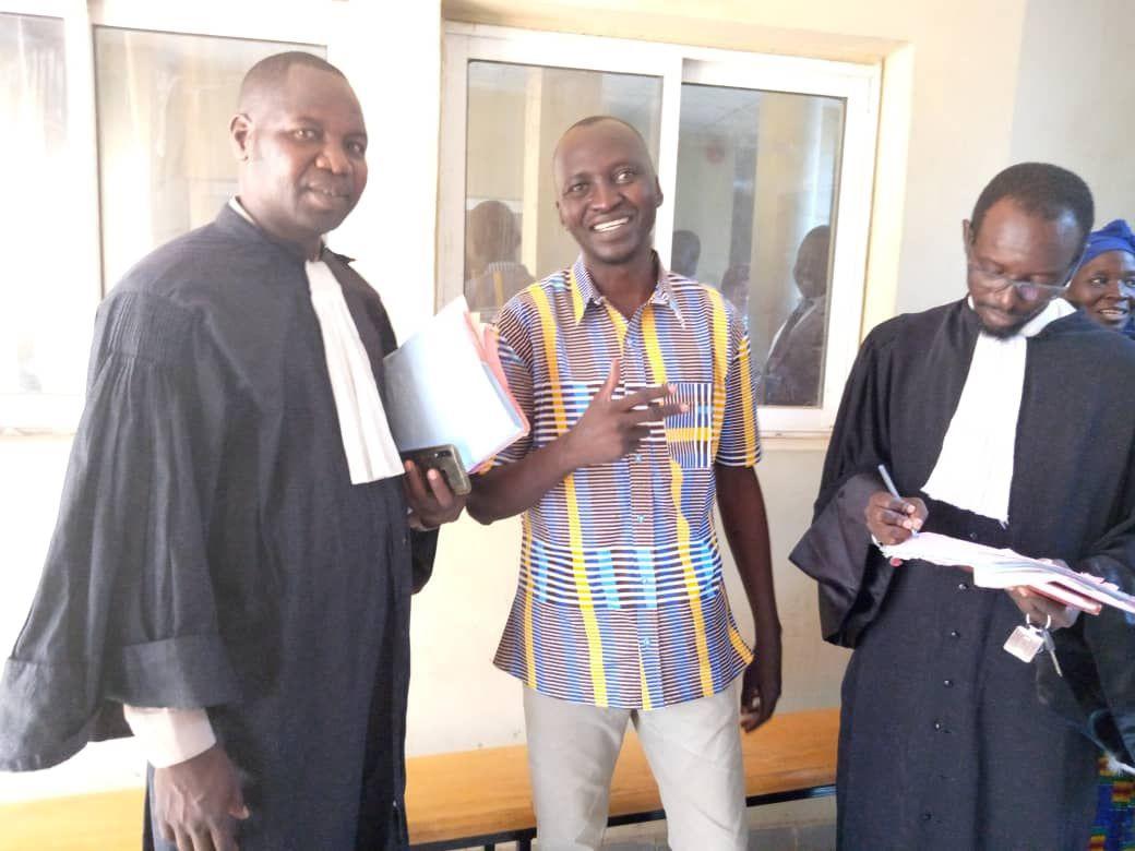 Le journaliste tchadien, Martin Inoua Doulguet,désormais libre !