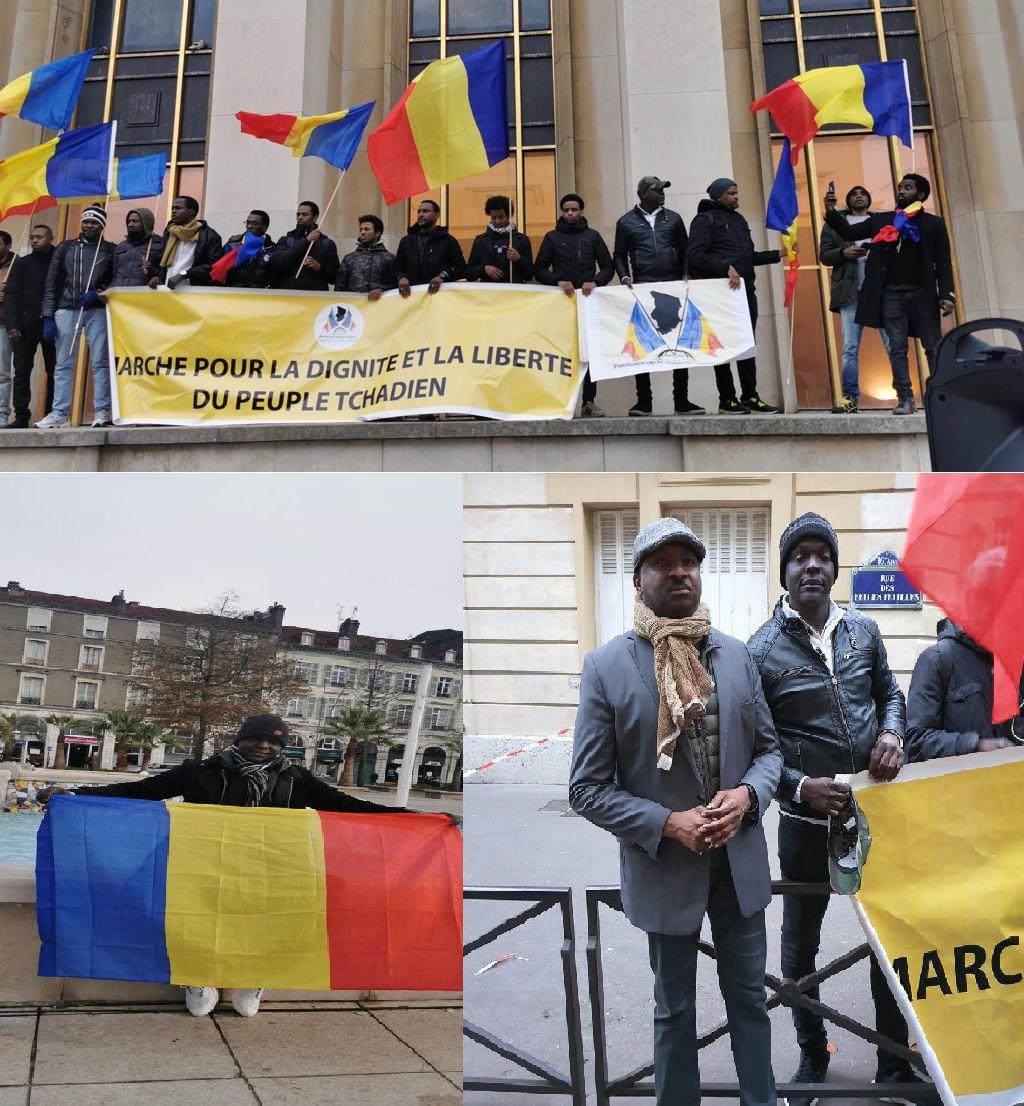Appel à la manifestation contre la maréchalisation du dictateur Deby