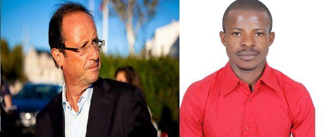RCA: François Hollande interpellé par un citoyen centrafricain