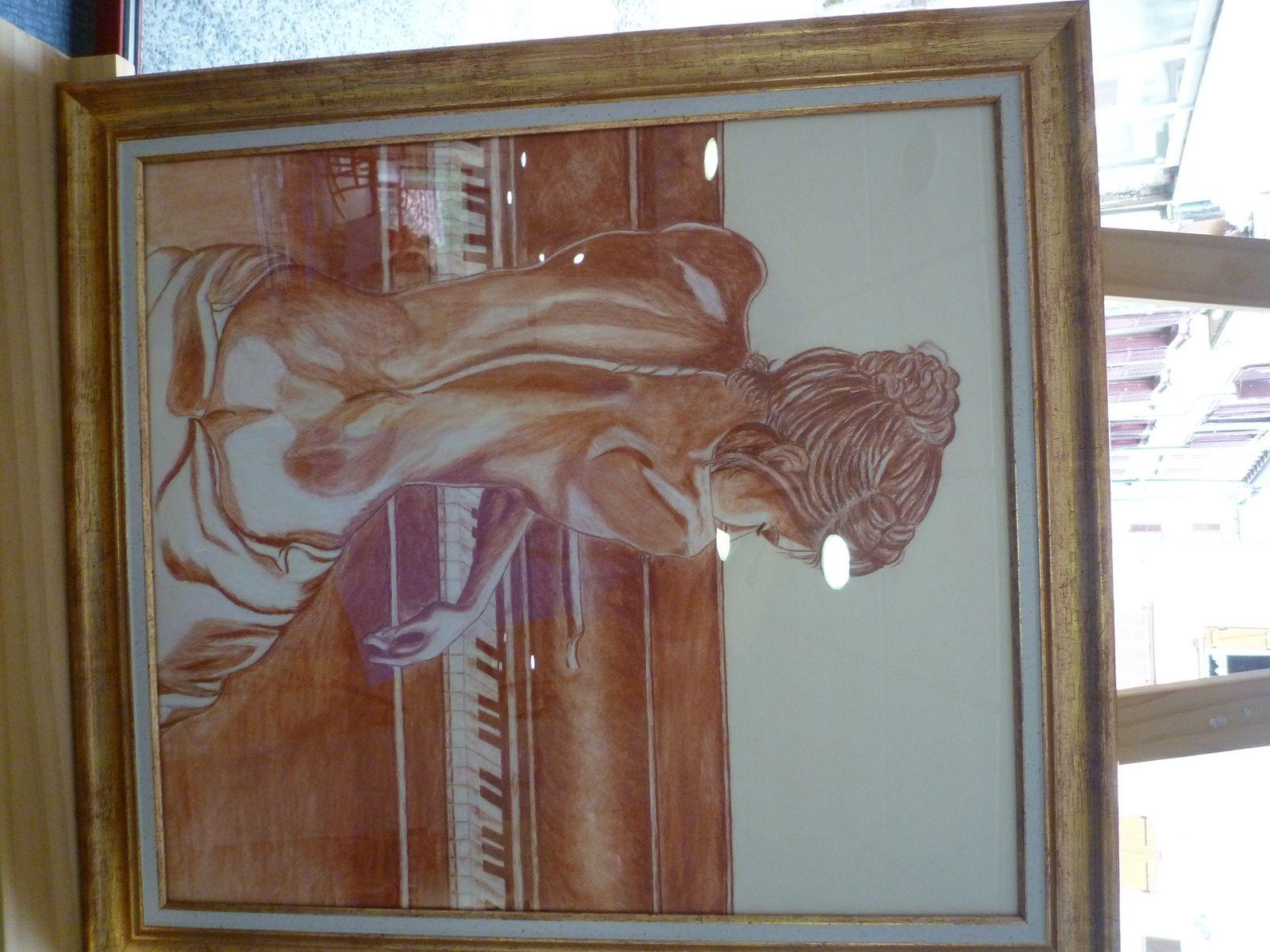 Salon des aquarellistes à Massiac