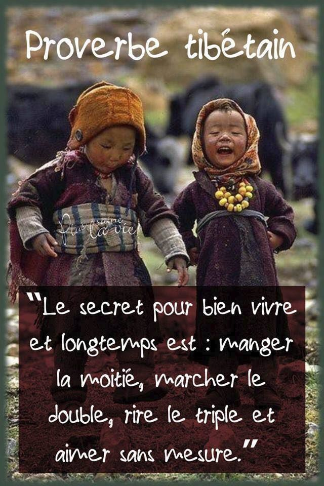 proverbe Thibétain