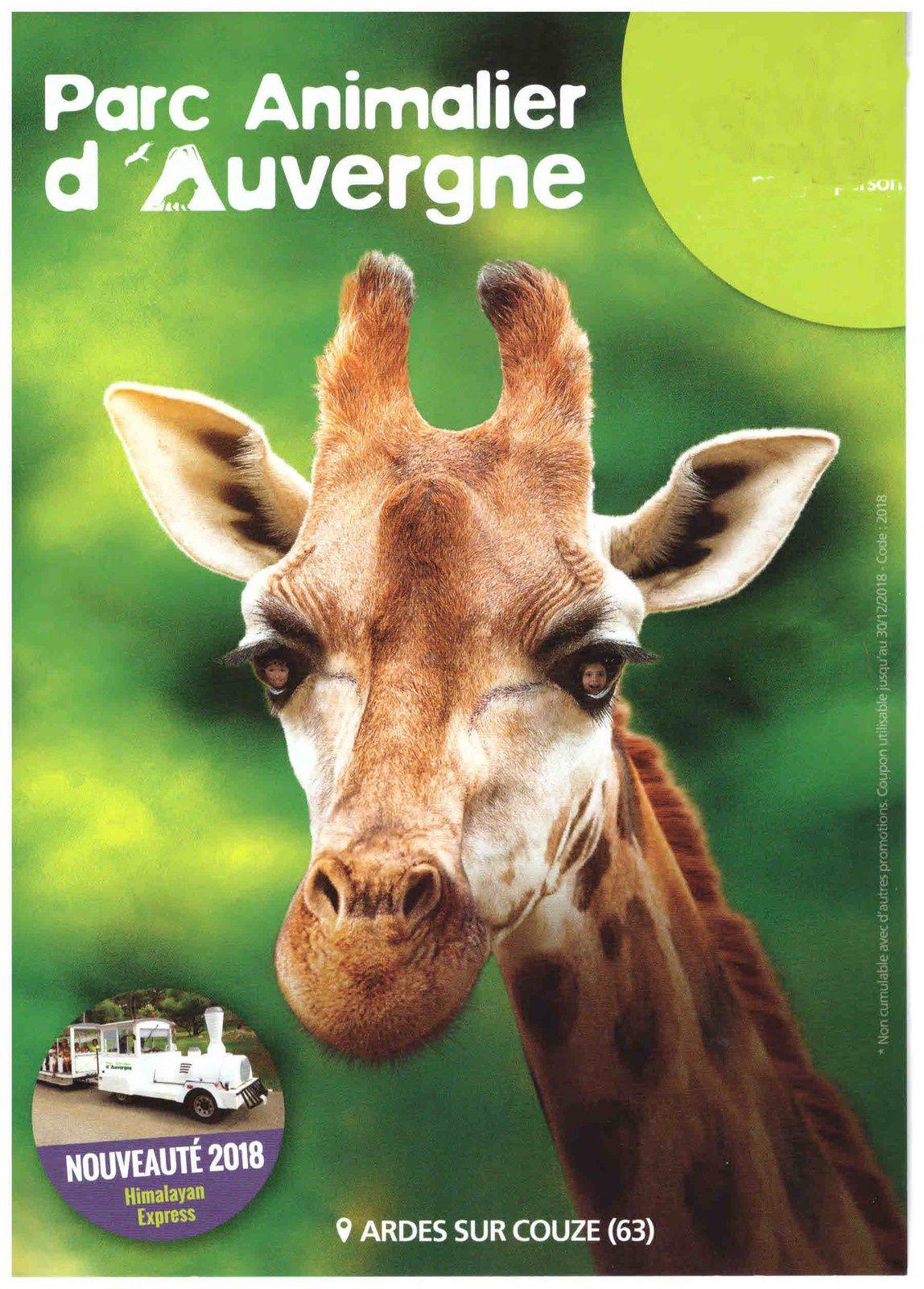 Ardes sur Couze : Parc animalier