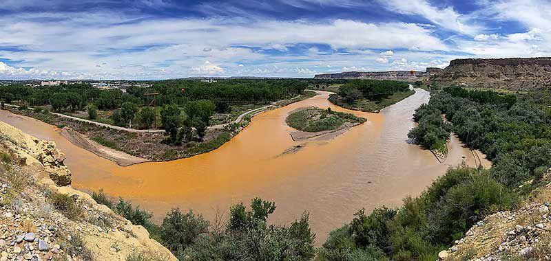 La surprenante histoire de la pollution de l'Animas river