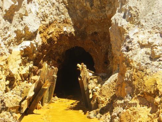 Entrée de la King Gold mine