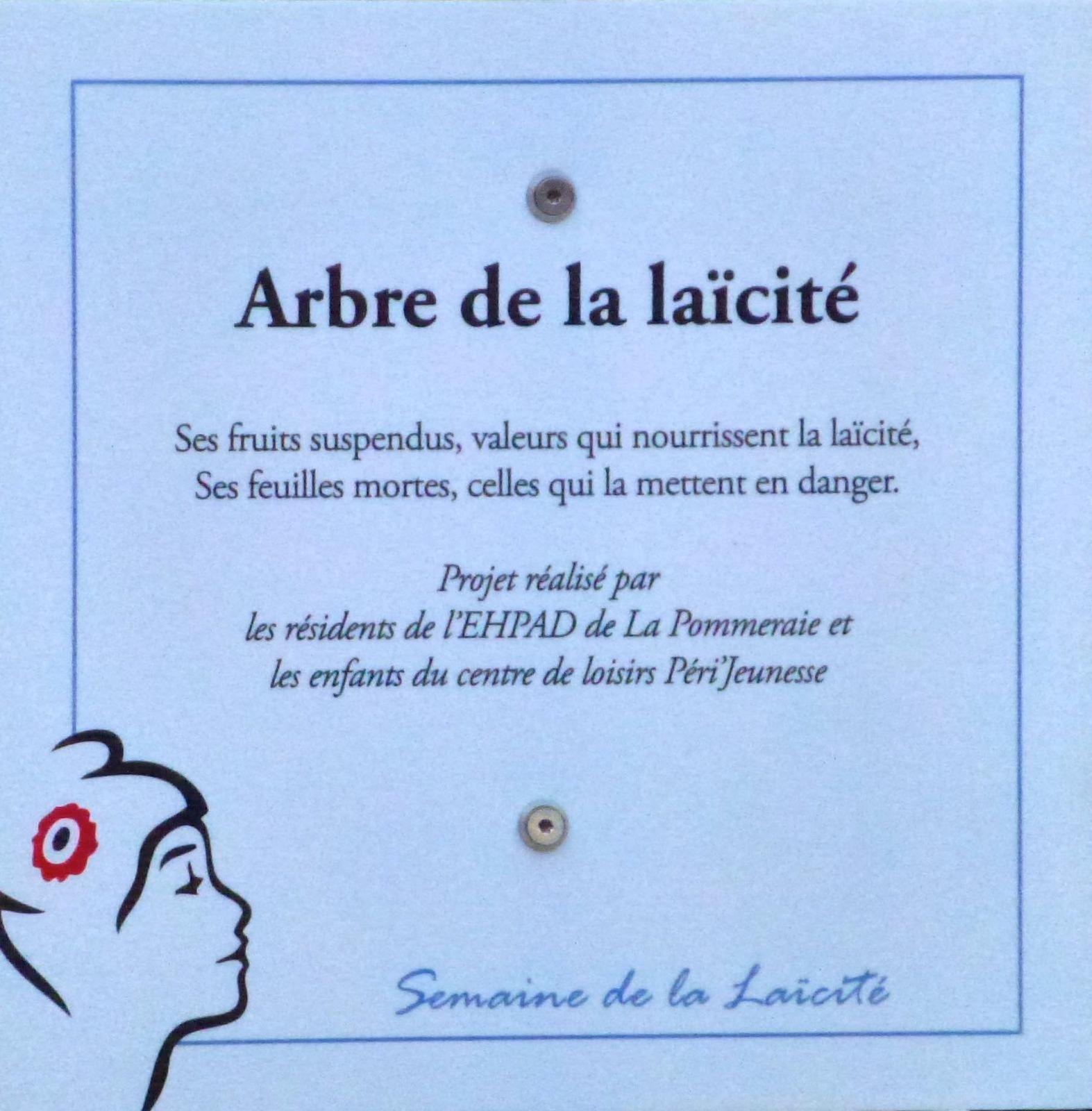 Inauguration du Parvis de la Laïcité (suite)