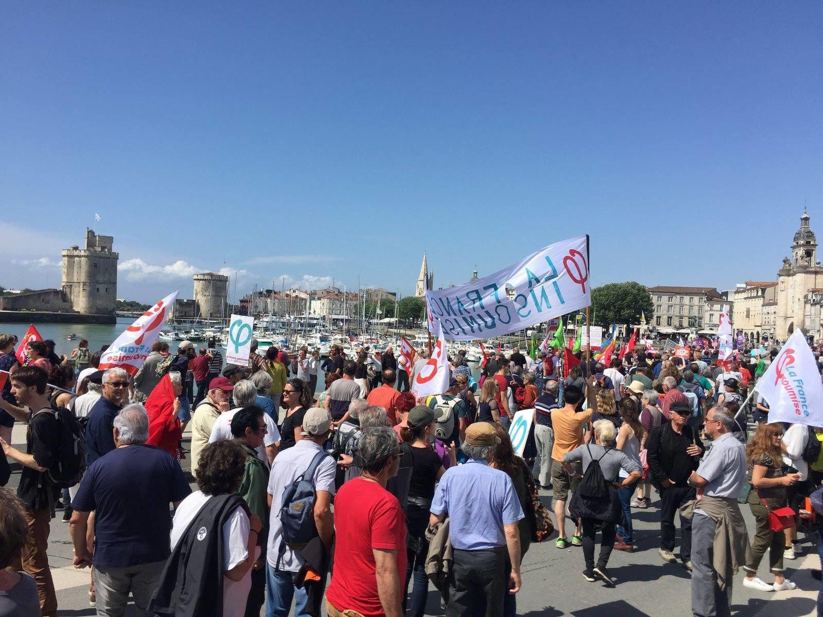 Marée populaire du 25 mai à La Rochelle