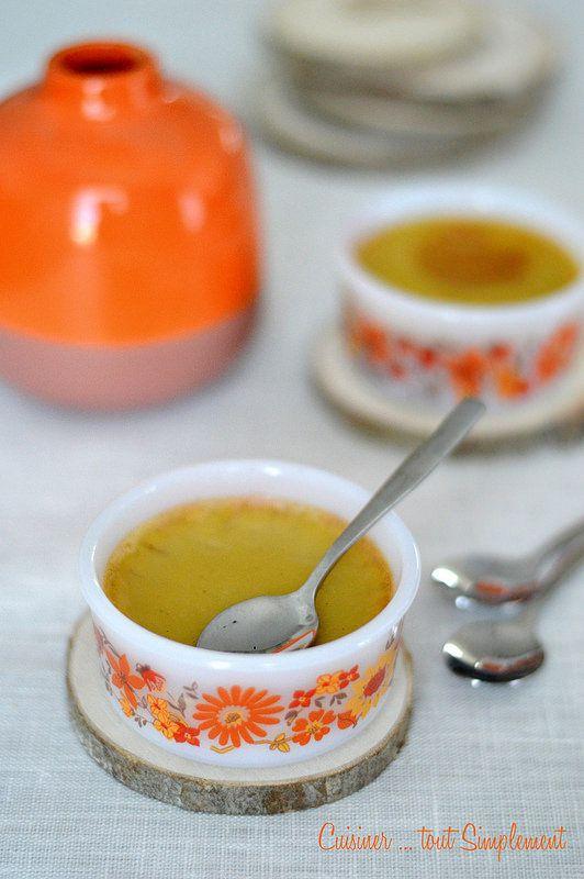 Crème aux oeufs et au lait végétal