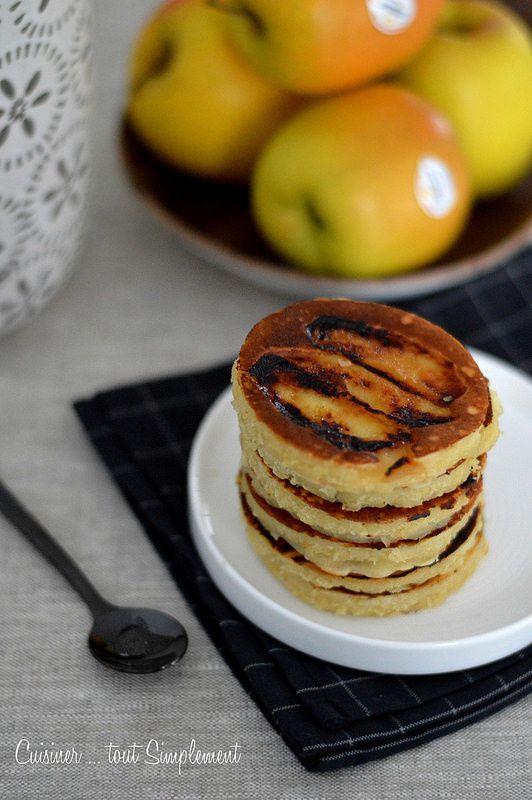 Pancakes Pomme - Amande