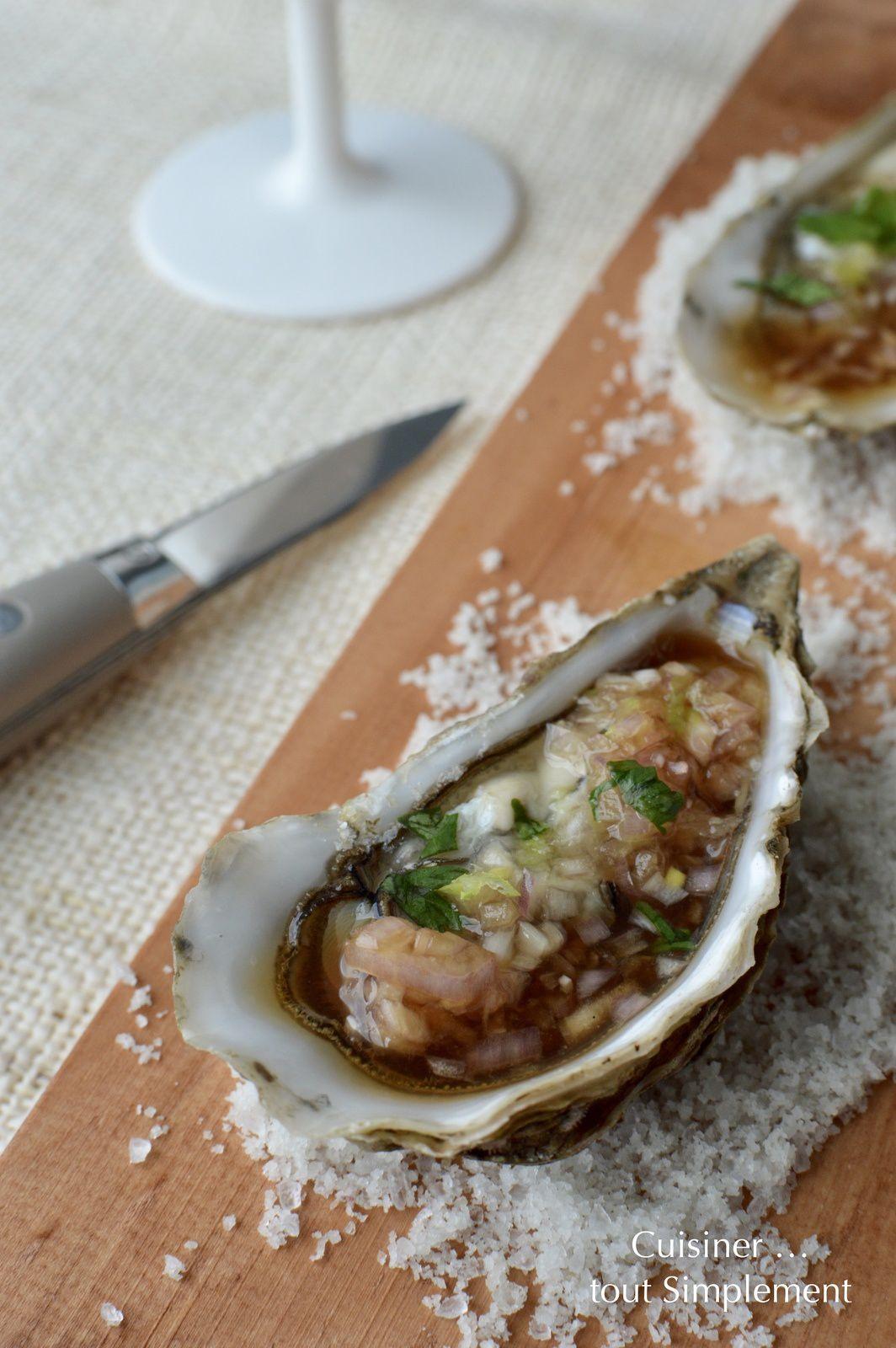 Huîtres à la Japonaise