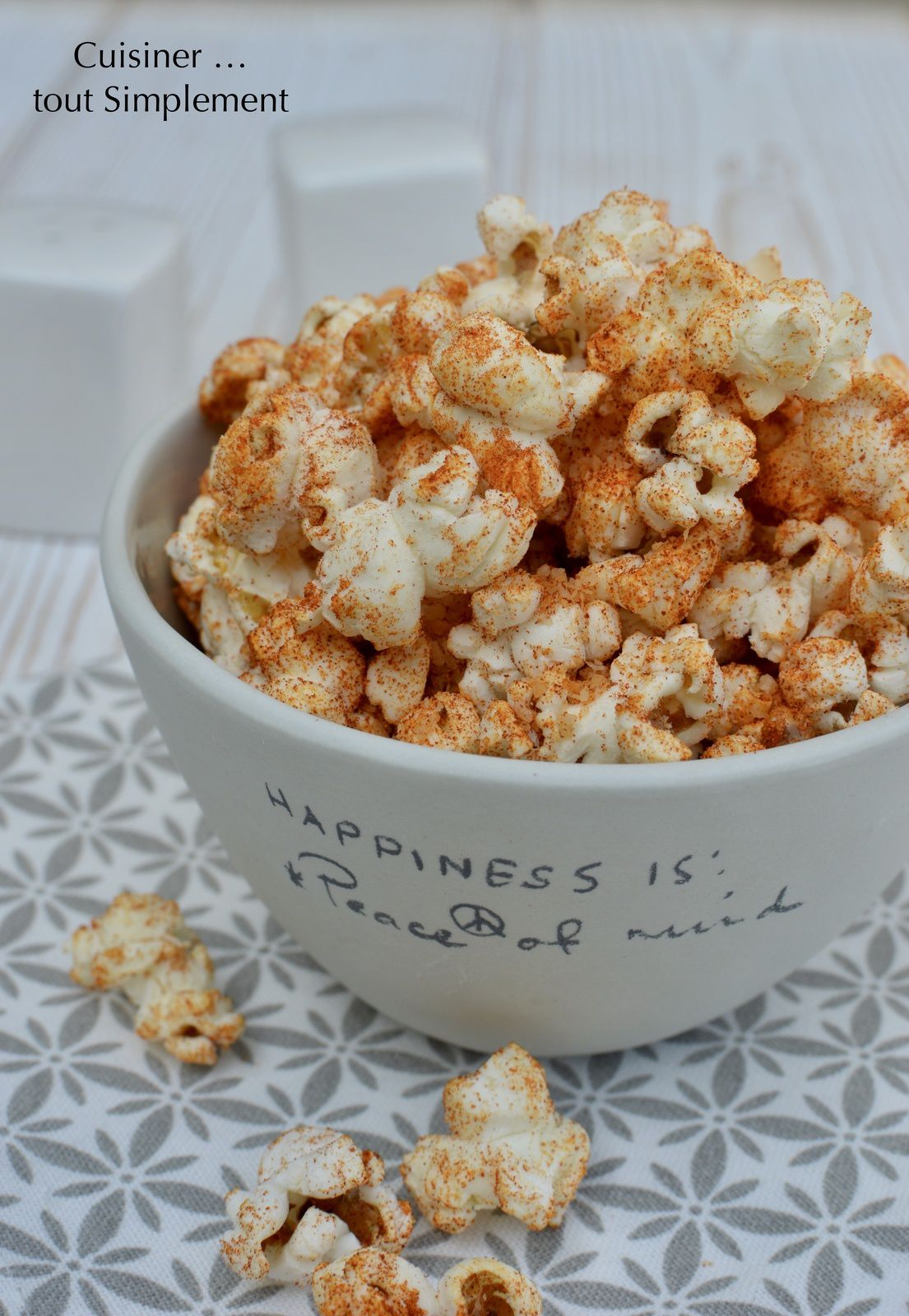 Pop Corn Parmesan - Paprika