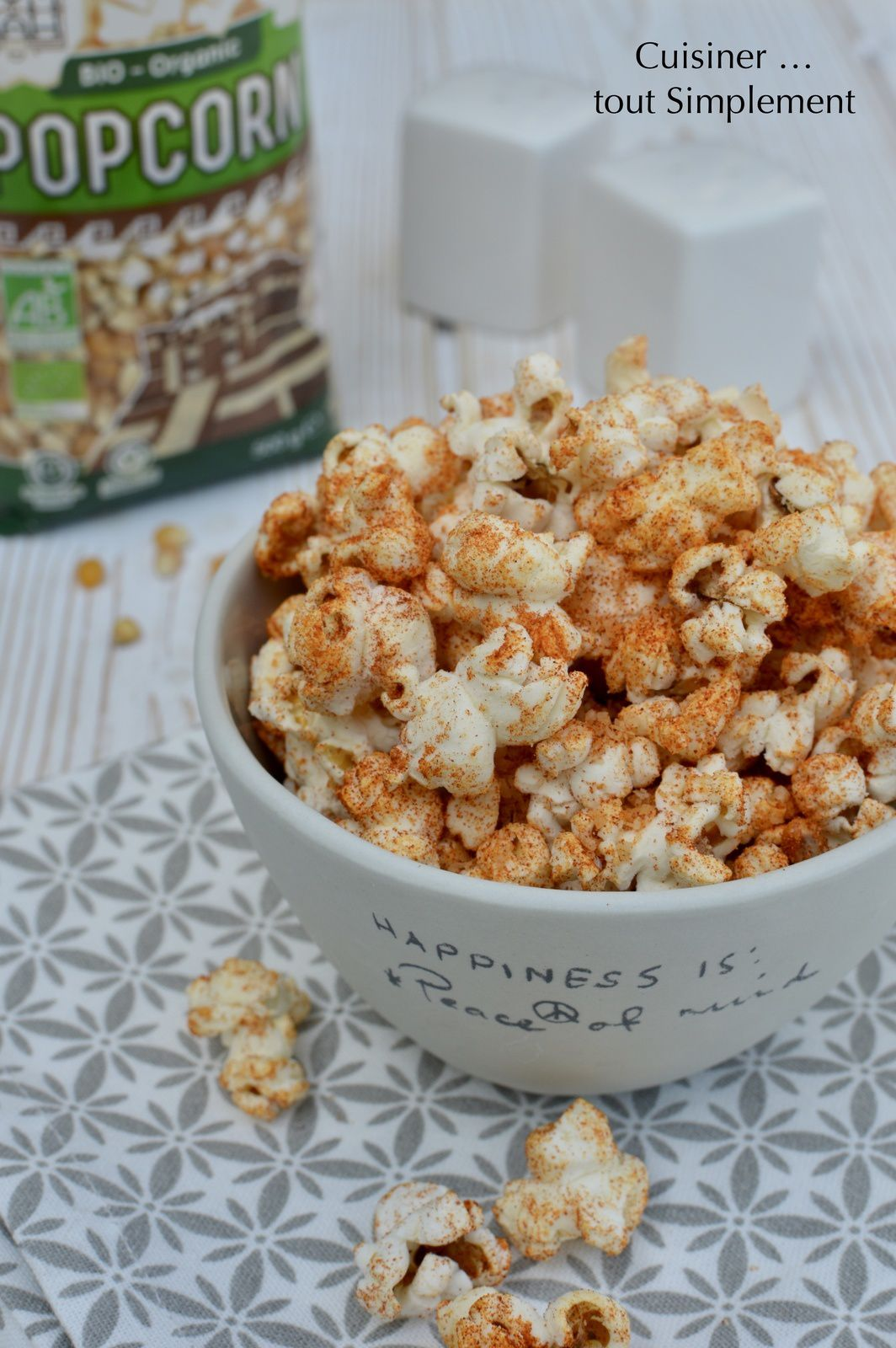 Pop Corn BIO YUM KAH
