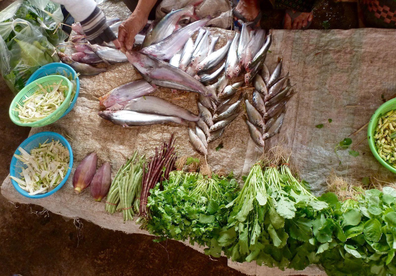 Marché - Laos