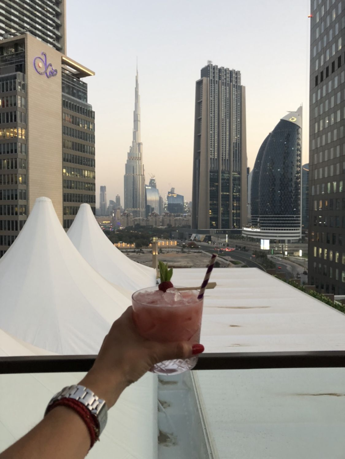 Luna sky bar : the place to be in Dubaï