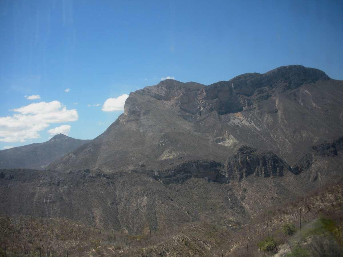 Parois verticales dans l'état de Oaxaca