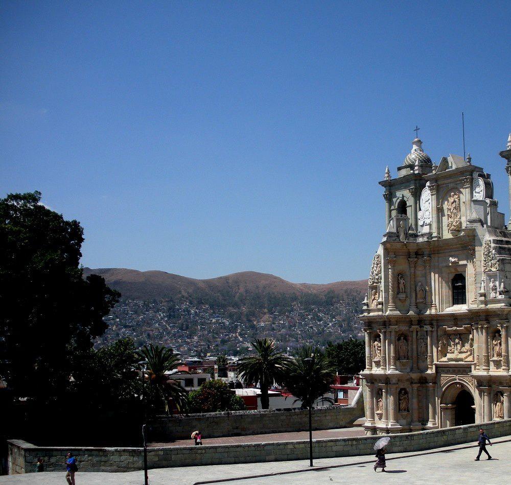 Azur à Oaxaca, il faisait très chaud pour célébrer le printemps