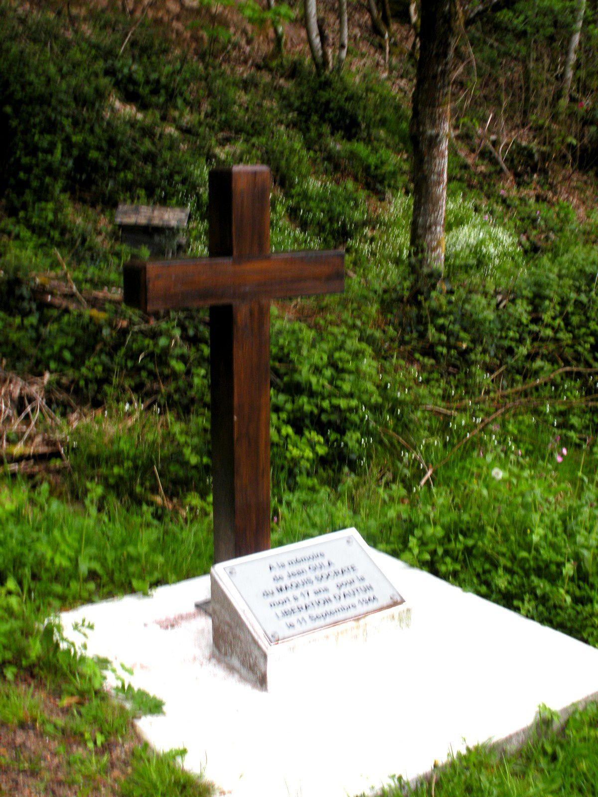 Monument en l'honneur d'un libérateur d'Autun