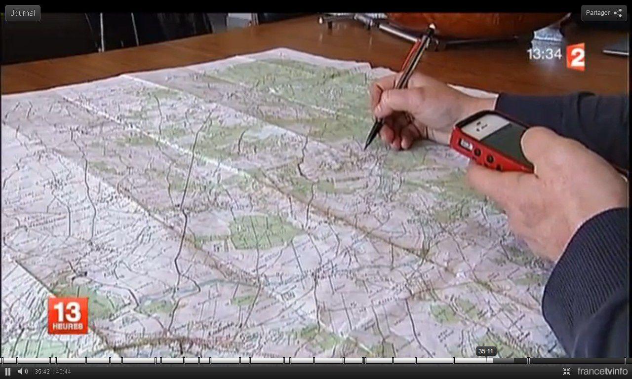 Voyage sans sortir de chez soi (photo d'écran France 2)