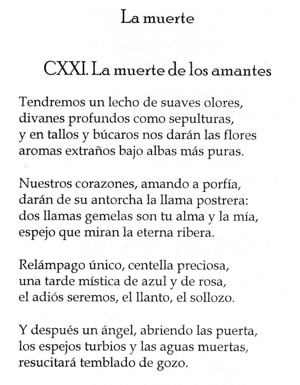 Ce temps qui passe et Las Flores del Mal... avec Charles Baudelaire