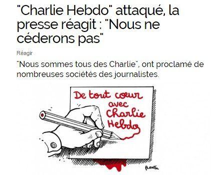 """J'ajoute une pensée pour mon frère Stéphane, le caricaturiste Pouny, talent trop tôt disparu, à qui j'avais dédié ce blog, dont l'un des fils m'écrit :  j'imagine le caricaturiste Pouny  accueillir ses potes Wolinski , Cabu , Charb , et Tignous En leur disant: """"Salut les copains, On va pouvoir faire ensemble les Charlots  Hardis et leur montrer qu'on craint rien à ces fils de p...!"""""""