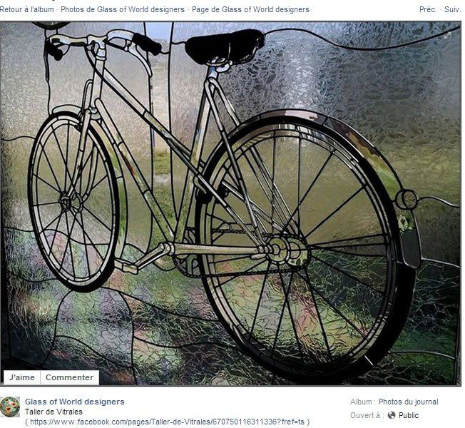 Ma rubrique du vélo : une bicyclette de pur cristal