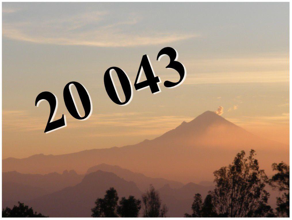 Le Popocatepetl, vu de Cuernavaca, symbole de ce petit journal
