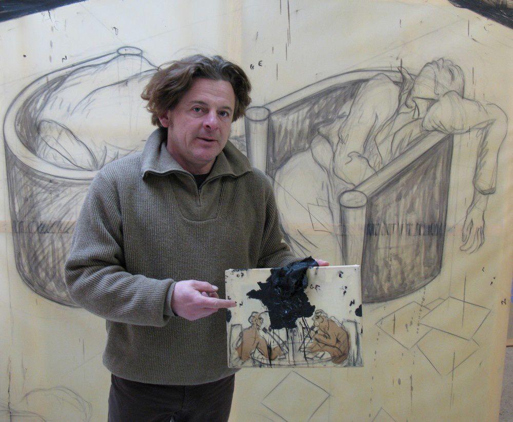 Franck Longelin et ses « Exécutions picturales »