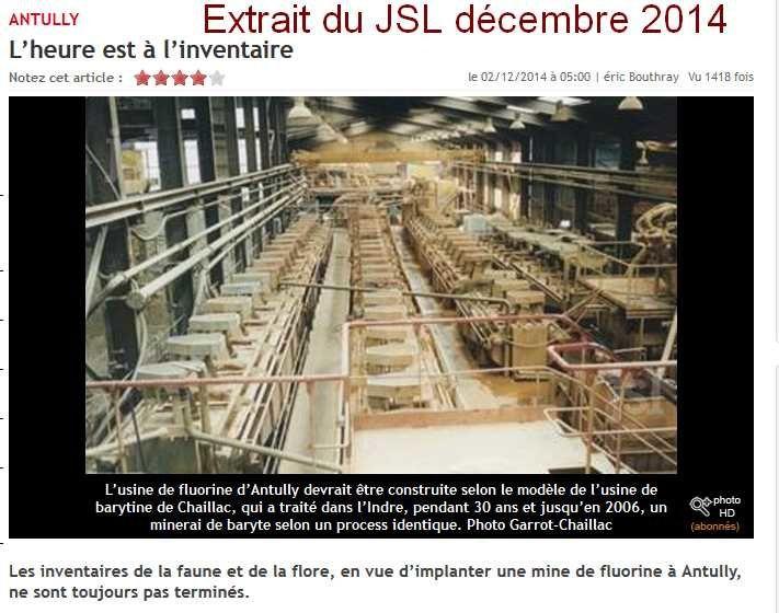 Le barrage de l'étang du Martinet et un extrait du Journal de Saône et Loire