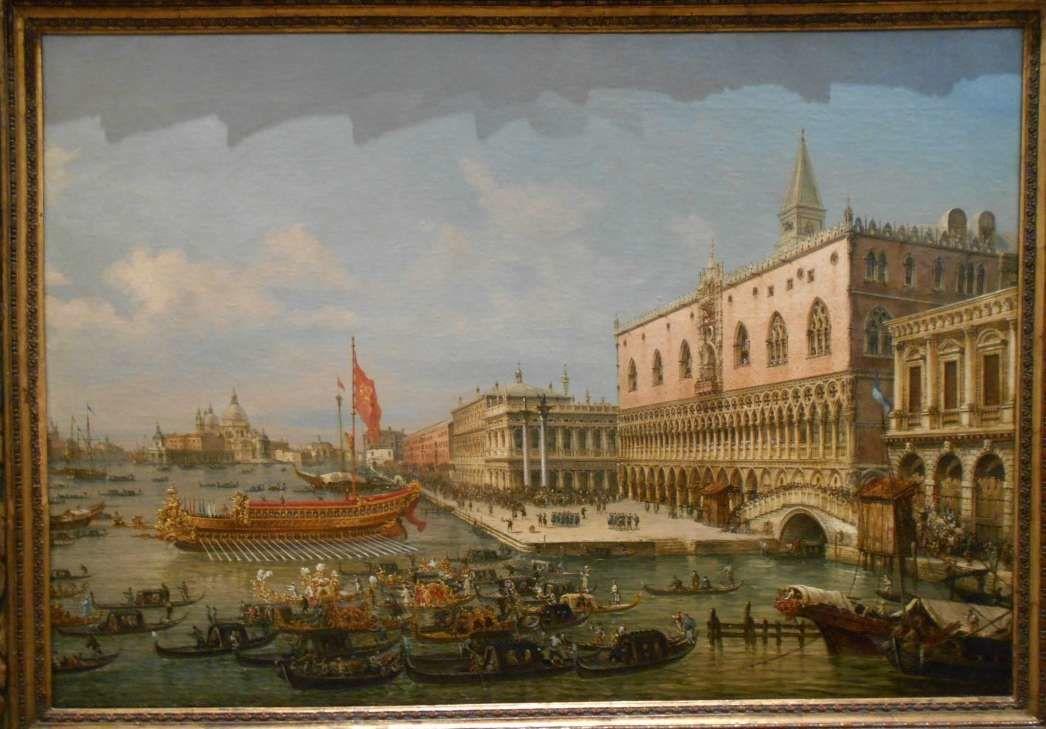 Merveilleux voyage à Venise à travers les peintures de l'exposition temporaire du musée Soumaya à Mexico