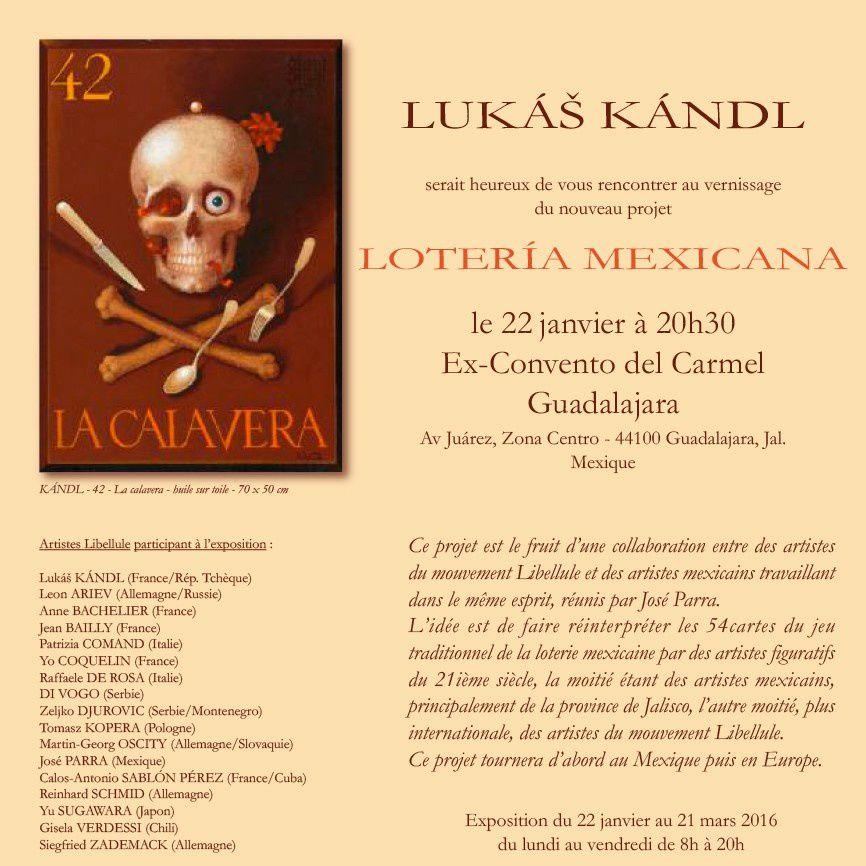 Guadalajara : collaboration des artistes mexicains et européens sur le thème de la Loterie mexicaine