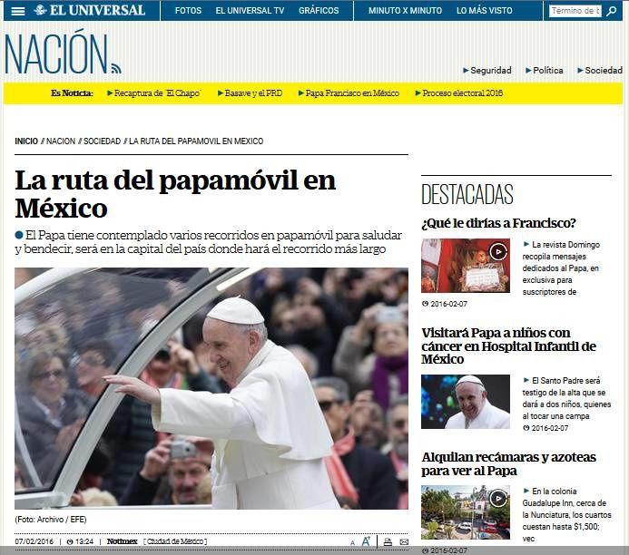 Séjour de François en terre aztèque ou maya, de la presse suisse à la mexicaine...