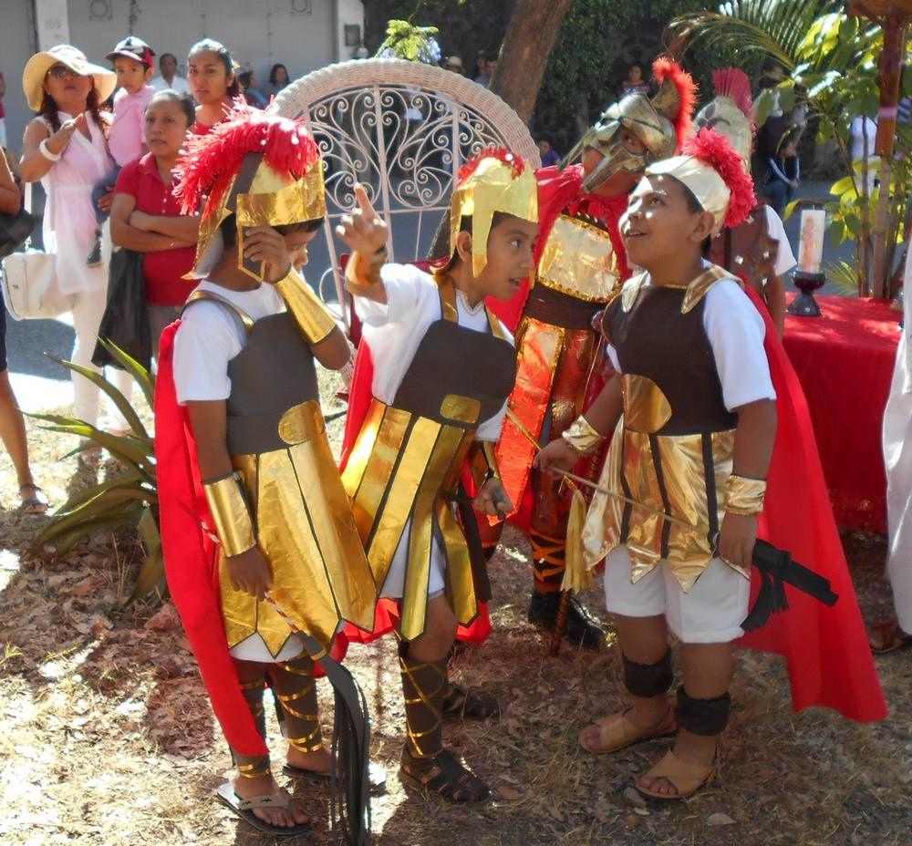 Le chemin de la croix au paseo Atzingo à Cuernavaca