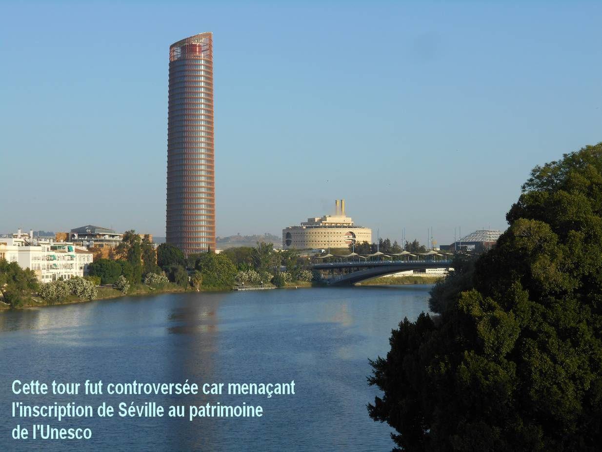 Séville un port au bord du fleuve... coule le Guadalquivir