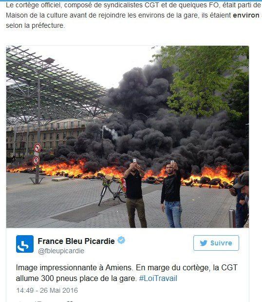 Feu aux poudres : Bloquant la sortie des journaux, la CGT ne se soucie que de sa propre liberté d'expression