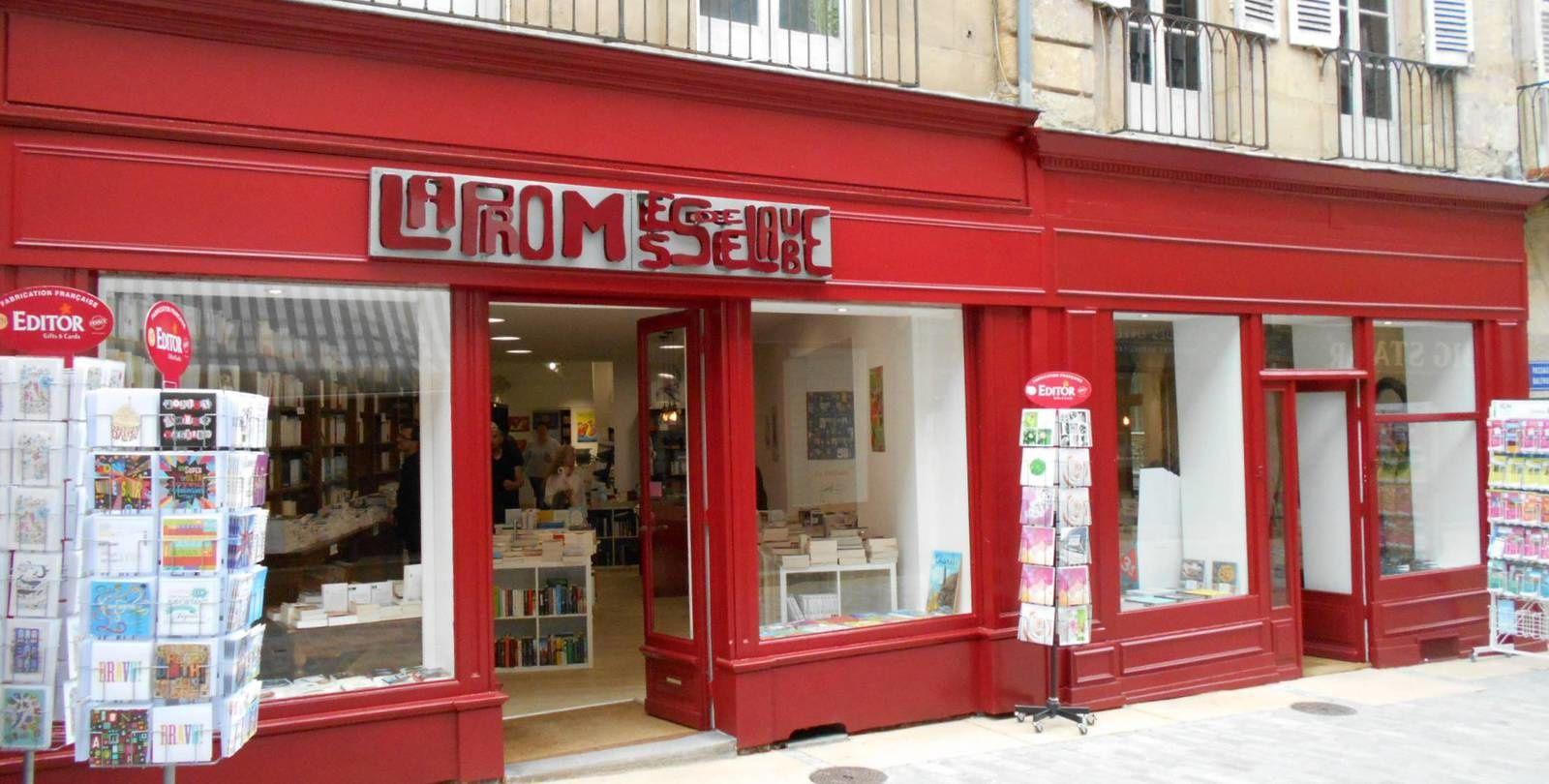 Devenue la Promesse de l'Aube la librairie d'Autun a doublé sa surface pour accueillir 30 000 ouvrages