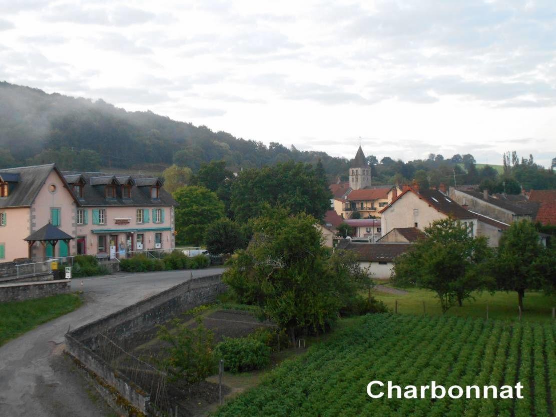 Faire un temps à vélo, sur un parcours de vallée, mais vallonné : d'Autun à Gueugnon