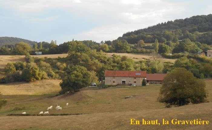 Le col de la Gravetière, un passage dans le beau massif d'Uchon
