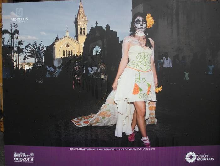 Le jour des morts des Mexicains fait partie du patrimoine de l'humanité ; il s'est exposé à Cuernavaca