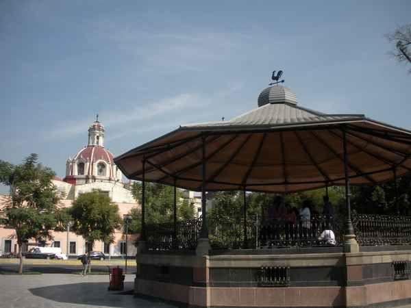Belles images de Mexico (CDMX) : promenade sur l'Alameda central