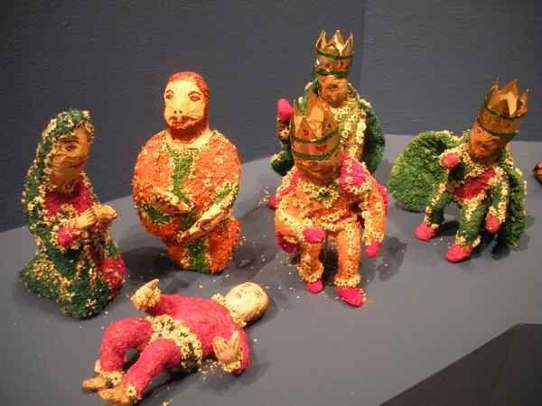 Joyeux Noël ! A Mexico, la Banamex expose des centaines de crèches, chefs-d'œuvre de l'art populaire