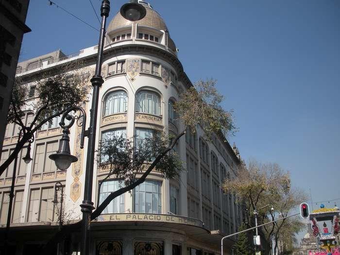 Magasin plus que centenaire d'origine française, le Palacio de Hierro scintille à Mexico