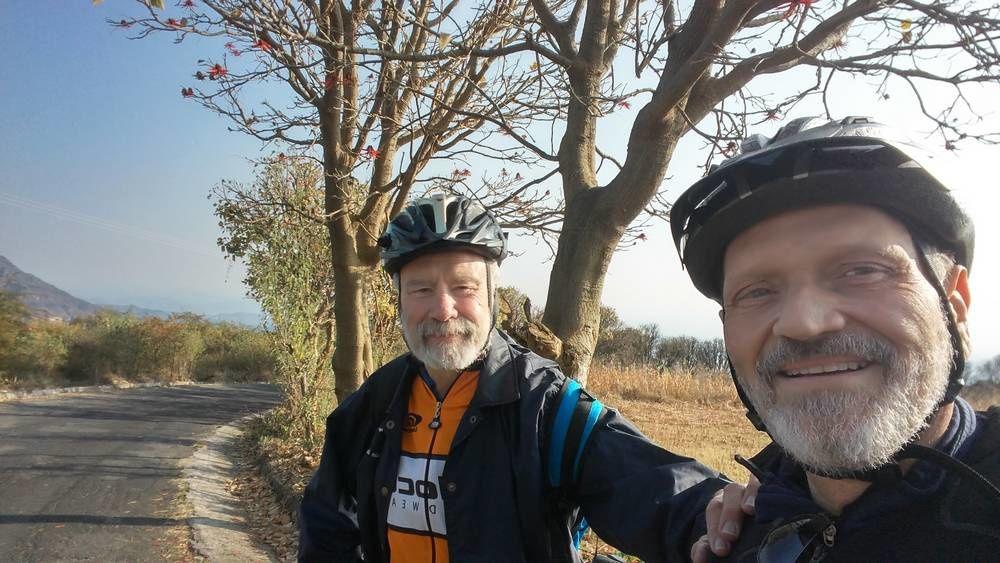 Balade cycliste au (vraiment sympathique) village de Tlatempa à Ocuilan