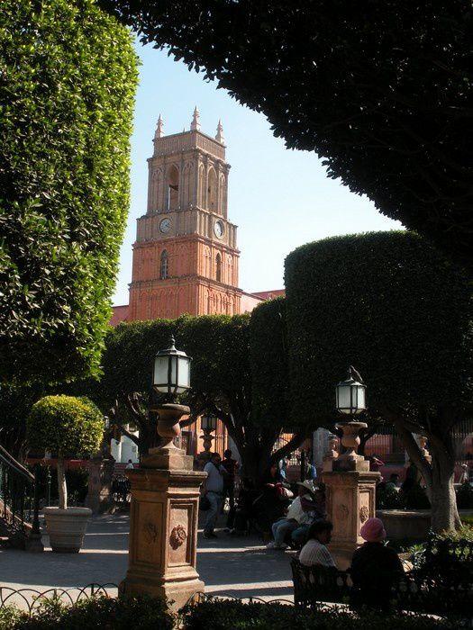 Au coeur de la ville, le charme du jardin Allende à San Miguel