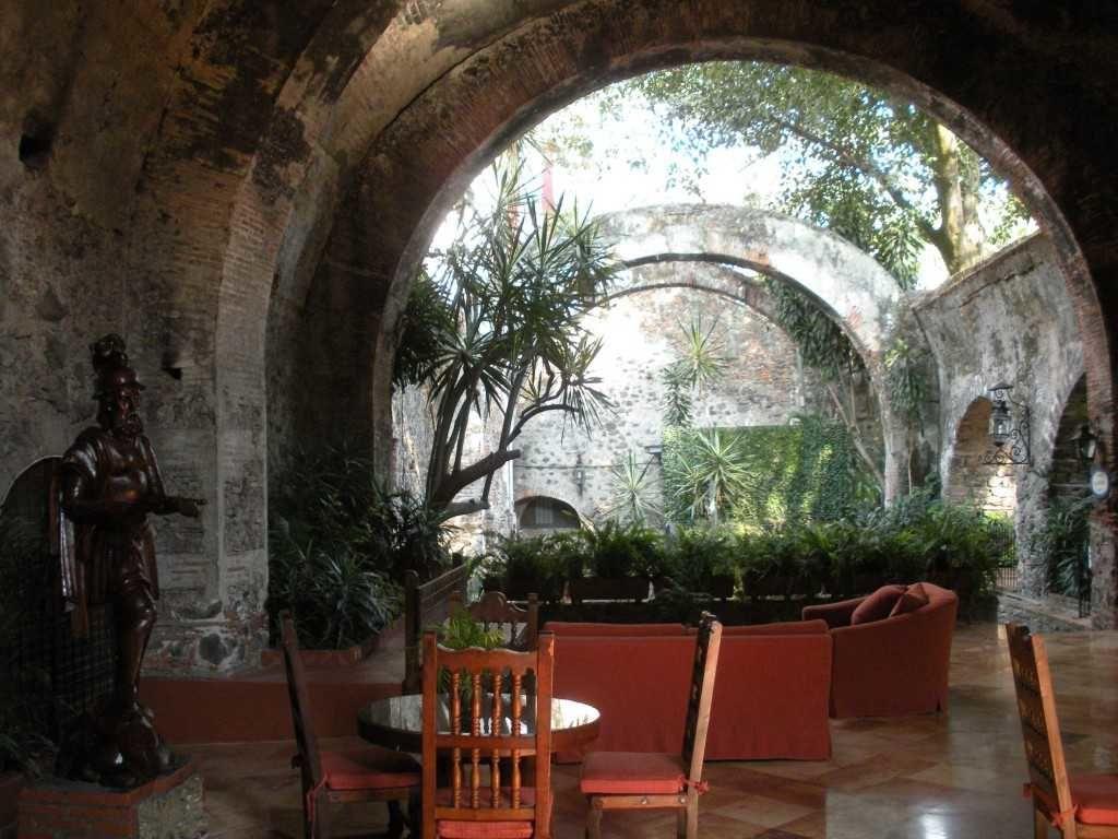 Superbe lieu de confort, mais aussi de mémoire, et patrimoine colonial, la Hacienda de Cortés à Jiutepec