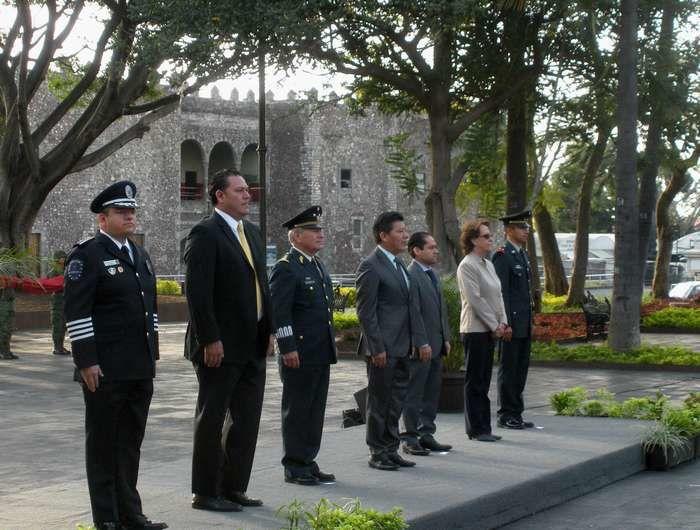Dimanche c'était le jour de l'armée mexicaine qui  fêtait ses 104 ans