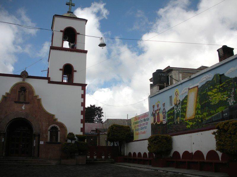 A vélo au dessus de Cuernavaca : j'ai flirté pour la première fois avec  les 3000 mètres d'altitude