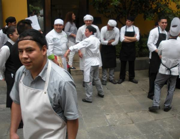 Alerte au séisme : notre restaurant évacué à Mexico !