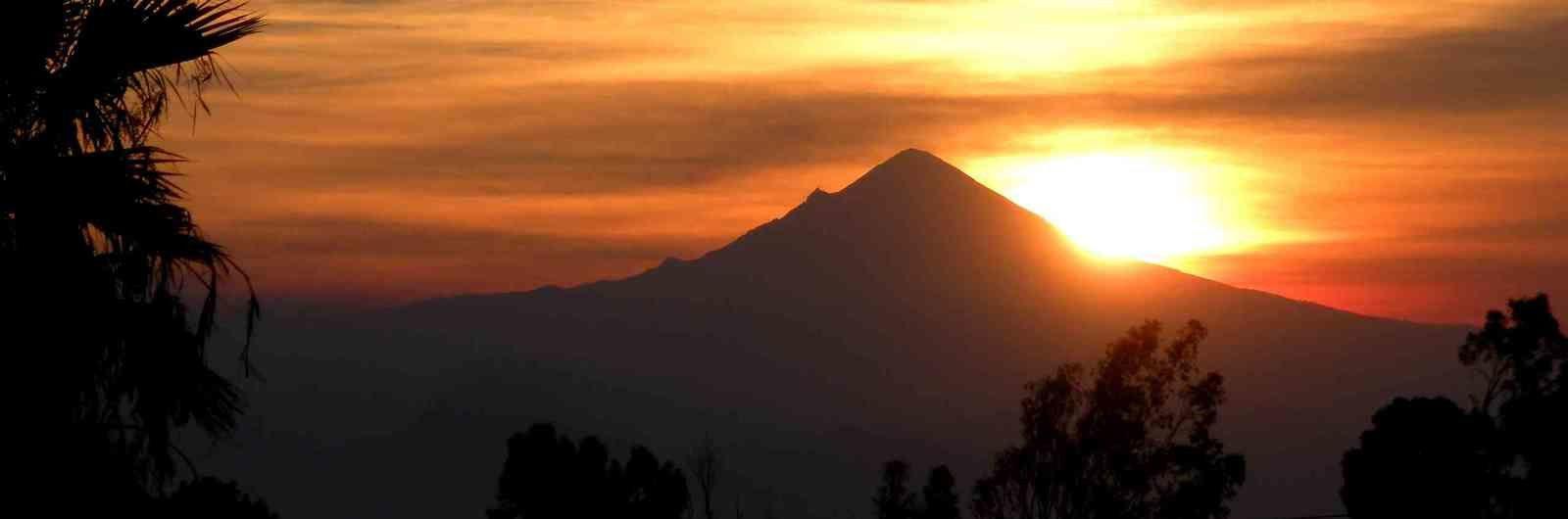 Les phénomènes du Popocatepetl
