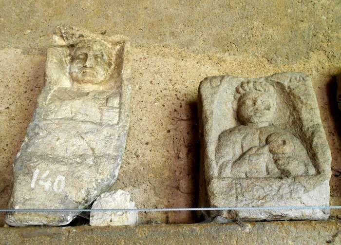 Le petit musée lapidaire d'Autun contient bien des trésors en son jardin