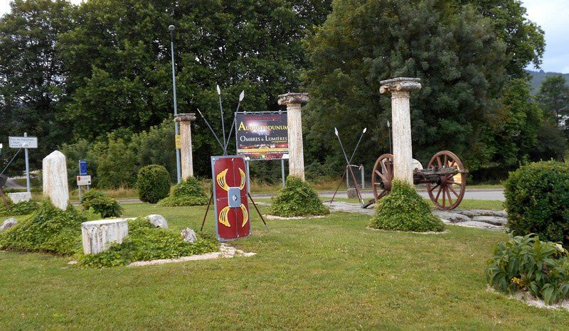 Etoile de Rolin et ronds-points d'Autun