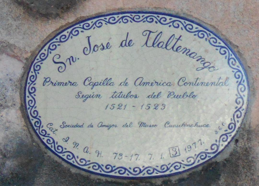 Photos dans l'ordre : San José, ND des Miracles et San Jéronimo